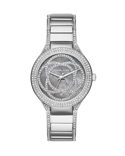 Michael Kors Kerry Plated Stainless Steel Bracelet Watch