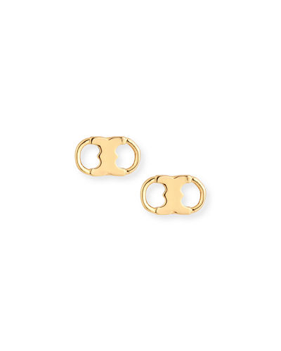 Gemini Link Stud Earrings