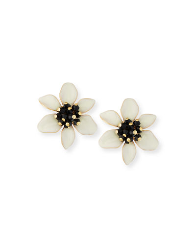 lovely lillies stud earrings
