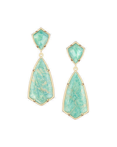Kendra Scott Carey Double-Drop Earrings