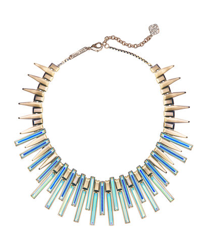 Kaplan Stick Bib Necklace