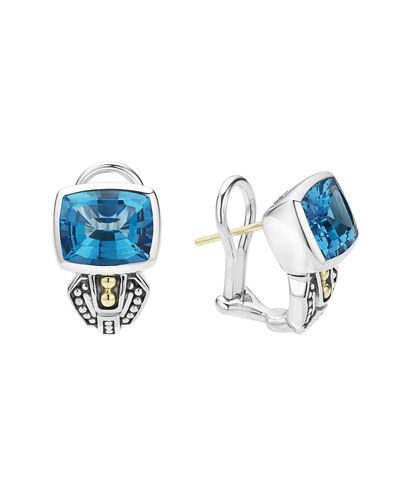 LAGOS 10mm Caviar Color Huggie Earrings