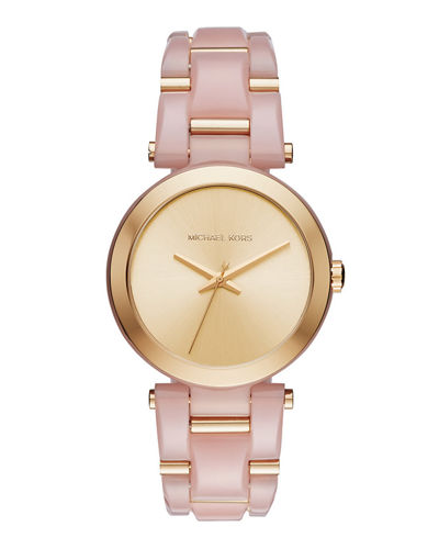 MICHAEL MICHAEL KORS 36mm Delray Acetate Bracelet Watch