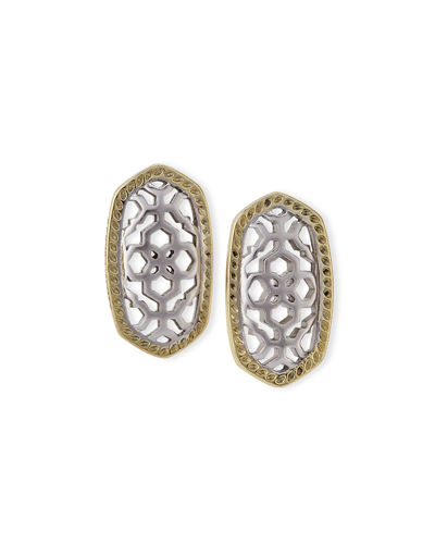 Kendra Scott Ellie Openwork Stud Earrings