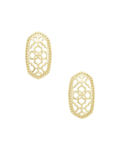 Ellie Openwork Stud Earrings