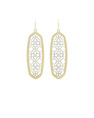 Kendra Scott Brendan Openwork Statement Earrings