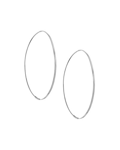 Flat Magic 14K Hoop Earrings