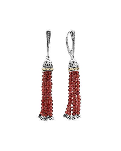 Tassel Lever-Back Dangle/Drop Earrings