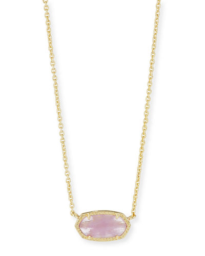 Elisa Birthstone Crystal Necklace