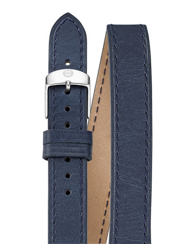 16mm Double-Wrap Leather Strap
