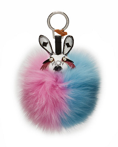 Rabbit Fur Punk Charm for Handbag