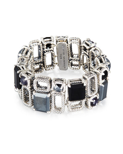 Châtelaine Two-Row Open Link Bracelet
