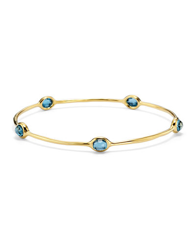 Five-Stone Skinny Bangle