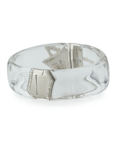 Lucite Medium Bangle Bracelet