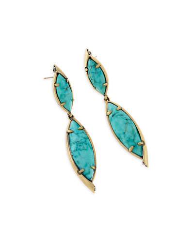 Maisey Hourglass Statement Earrings