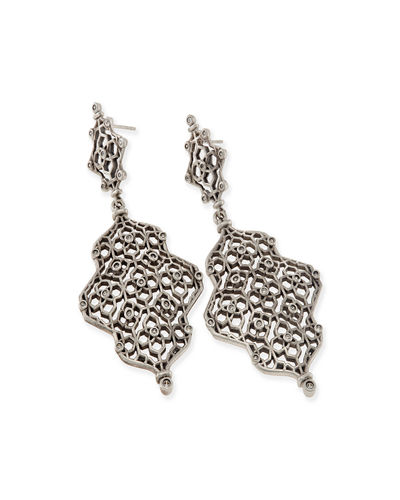 Renee Hourglass Statement Earrings