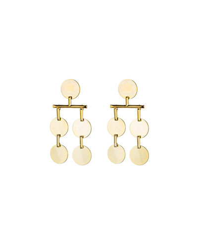 Token Chandelier Drop Earrings