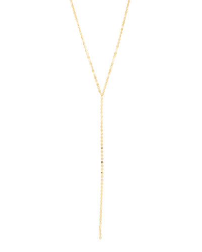 Bond Nude 14K Lariat Necklace