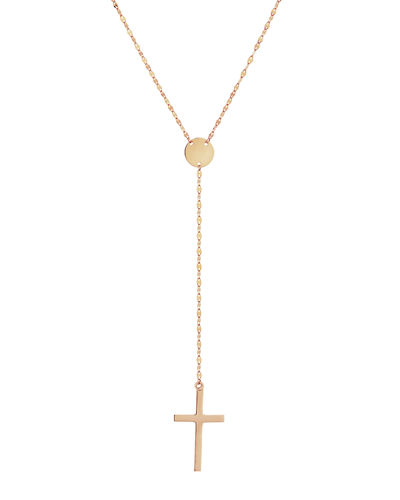 Gold Crossary Necklace