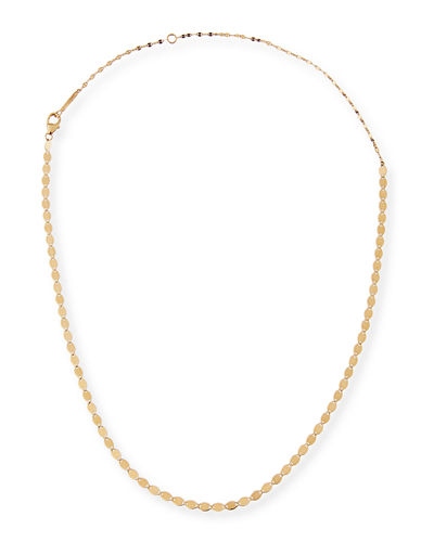 Short Nude Duo Necklace in 14K Yellow Gold