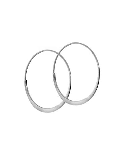 LANA Small 14K Wave Magic Hoop Earrings
