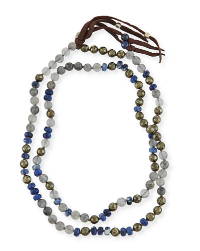 Chan Luu Beaded Tassel Necklace, 38