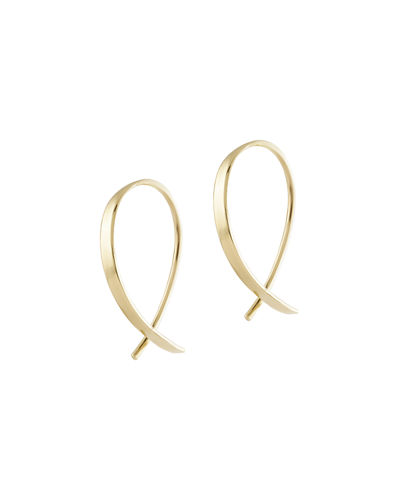 Girls' Mini Upside Down Hoop Earrings