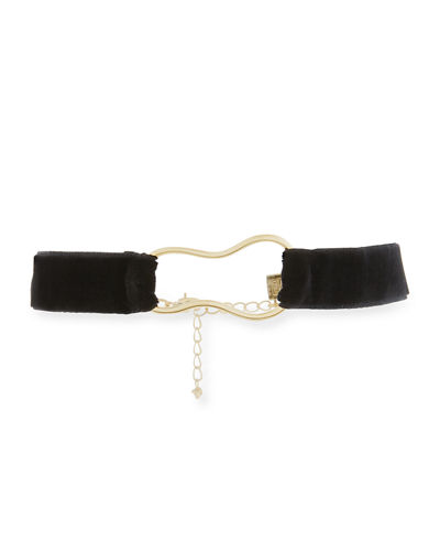 Bari Velvet Choker Necklace