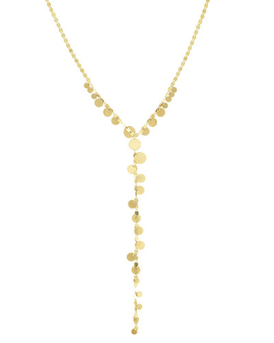 Multi-Disc Y Lariat Necklace, 20