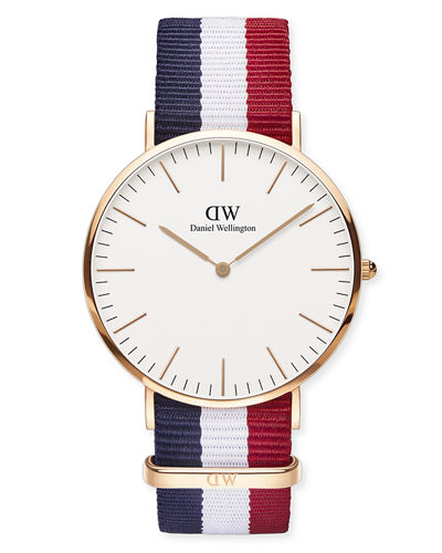 40mm Classic Cambridge Glasgow Watch