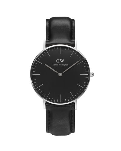 36mm Classic Black Sheffield Watch