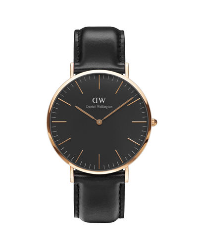 40mm Classic Black Sheffield Watch