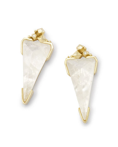 Libby Crystal Stud Earrings