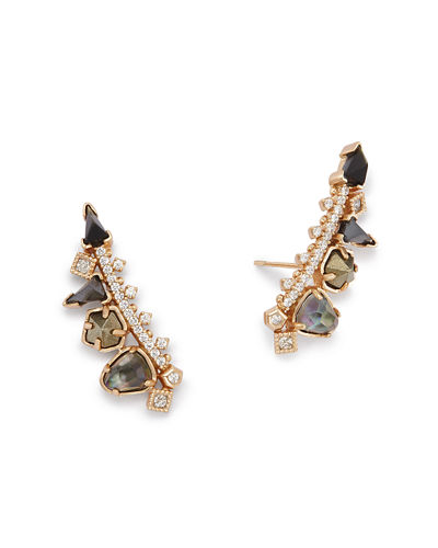 Clarissa Crystal Climber Earrings