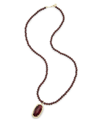 Marlowe Beaded Pendant Necklace