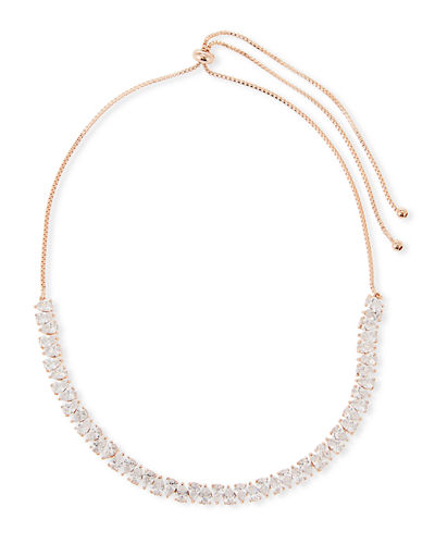 Monarch Jagged Edge Crystal Necklace