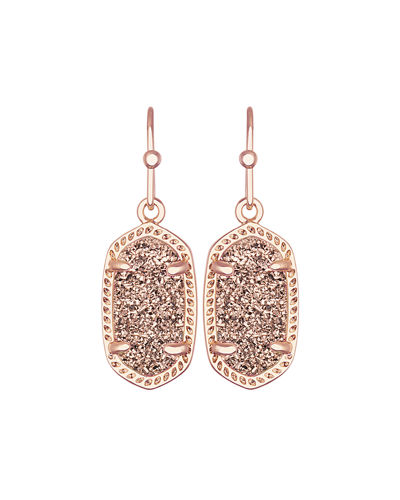 Lee Earrings in 14k Rose Plated Brass