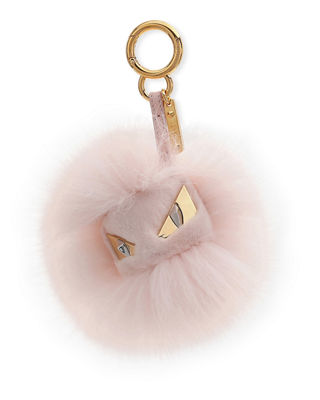 Bag Bugs Monster Fox And Rabbit Fur Bag Charm by Fendi