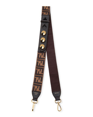 Strap You Ff Century Calf Shoulder Strap For Handbag by Fendi