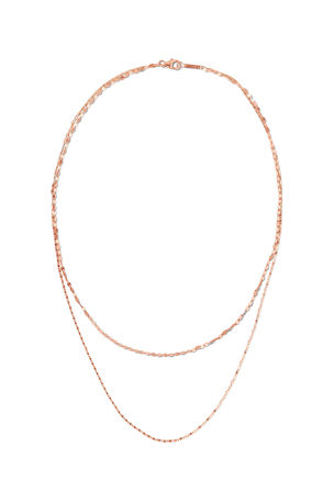 Lana 14k Tiered 2-Strand Necklace