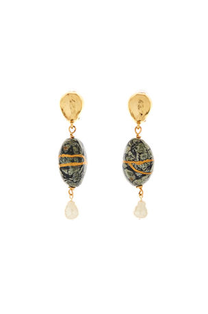 Oscar de la Renta Kintsugi Drop Earrings