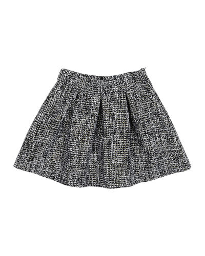 Heather Pleated Skirt, Size 8-14