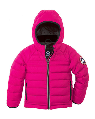 Canada Goose Bobcat Hooded Puffer Coat, Size 2-7
