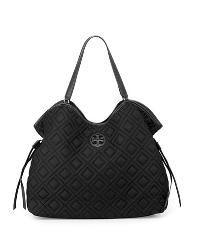 Tory BurchQuilted Slouchy Baby Bag