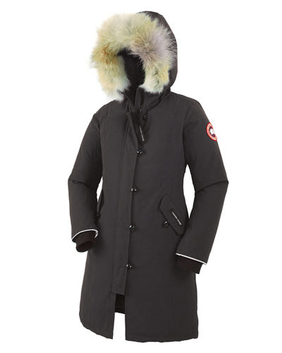 Canada Goose Youth Brittania Parka with Removable Fur