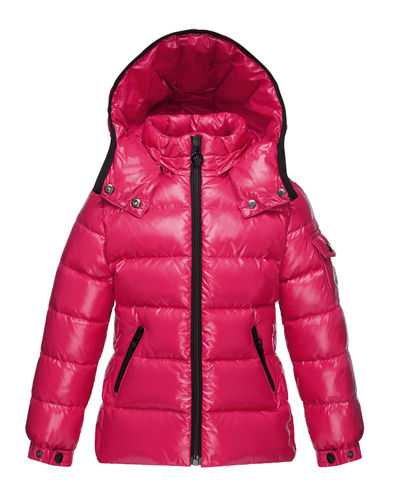 Bady Quilted Down Coat, Size 8-14