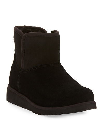 Katalina Short Suede Boot, Youth