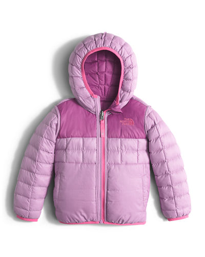 Girls' Reversible ThermoBall™ Hooded Jacket, Size 2-4