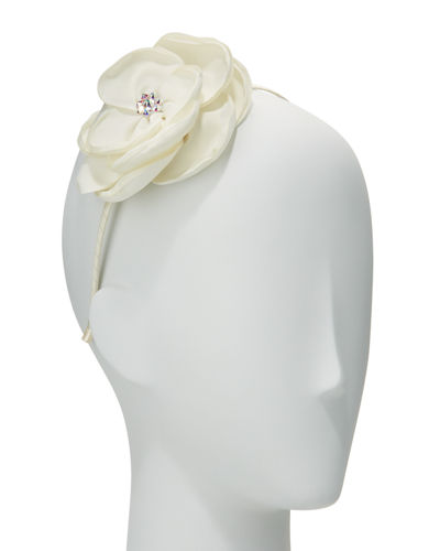 Bari Lynn Girls' Silk Flower Headband