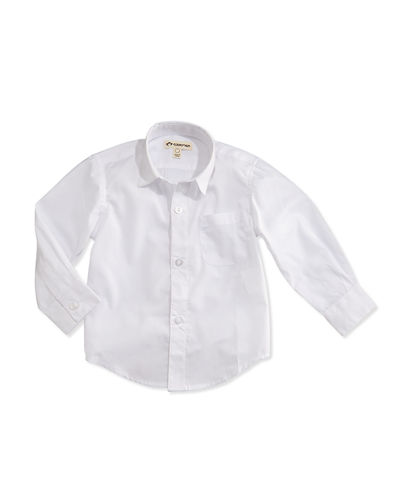 The Standard Poplin Shirt, Size 2T-14